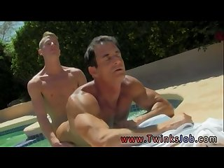 Free porn bareback gay sex and gay emo fucked big cock daddy poolside