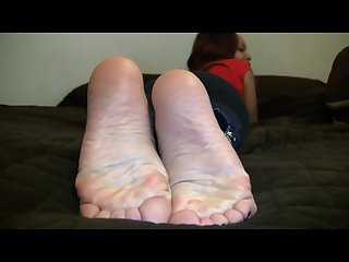 Danielle s candid stinky soles