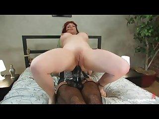 Lesbians big strapon and dildo