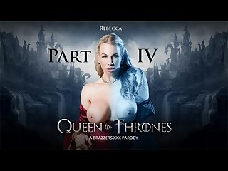 Queen of thrones part 4 a Xxx parody brazzers