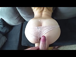 Creampie and sperm on ass compilation