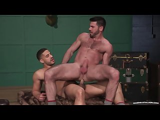 Ragingstallion hairy billy santoro fucked right up his asshole