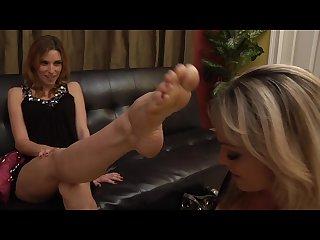 Lesbian feet running late let S make a deal