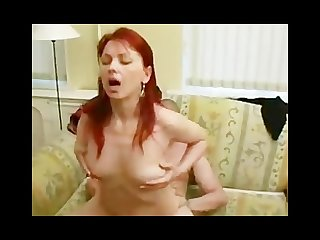 Lovely mature redhead
