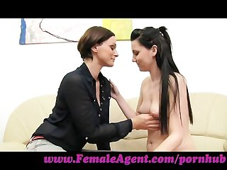 Femaleagent it started with a kiss
