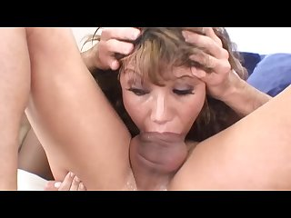 Ava devine extreme deepthroat blowjob huge cock to the balls must see a