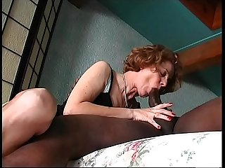 Black big bamboo for my Mom anal time