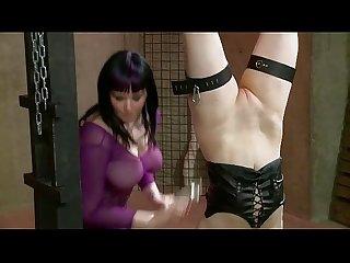 Lesbian Bondage Sex: Black �N Blue Bondage