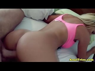 Blonde analsex gf fucks and sucks rod