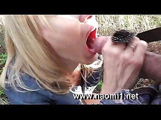 Public blowjob by naomi1