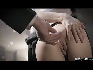 Teen gets anal reamed by her sugar daddy