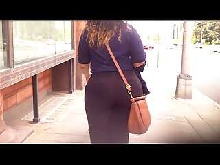 Thick latina big booty wide hipped ass candid