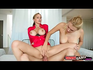 Natalia starr and Julia ann horny orgy