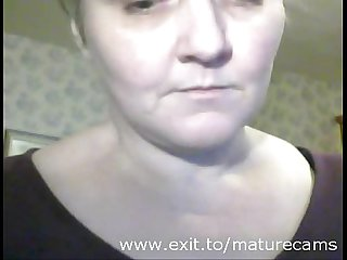 Webcam fun janice 50 years from wales