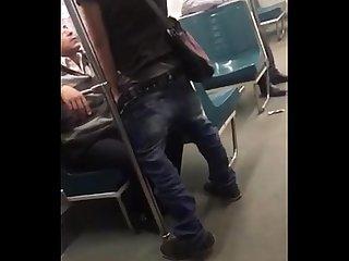 Metro blowjob