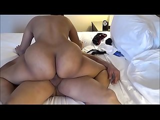 Milf Latina With a Big Beautiful Ass Riding Cock