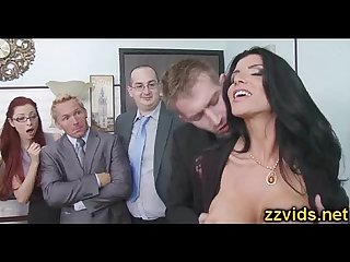 Sexy girl romi rain fucked at work