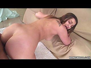 Sexy white girl dani daniels with a fat bubble ass pwg13793
