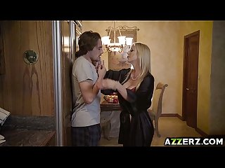 Hot MIILF Alexis Fawx fucks with stepson Tyler Nixon