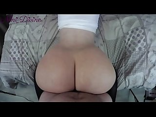 Harley Quinn gets fucked her big juicy ass in doggystyle! French Amateur!