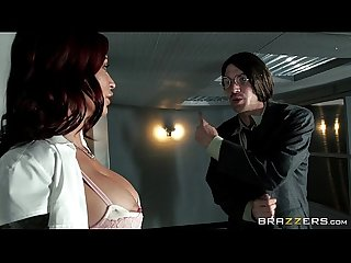Brazzers monique alexander big tits at work