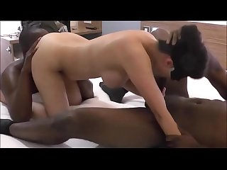 Real Wife s Interracial Threesome Cuckold