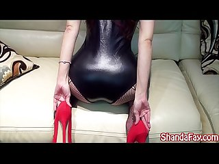 Kinky canadian milf gets fucked her feet licked
