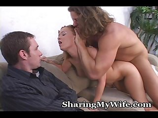 Wife rather share pussy with someone else