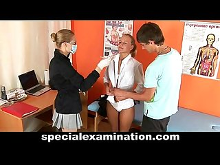 Special medical exam for sexy young couple
