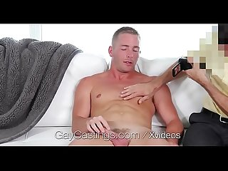 GayCastings First fuck and facial for hunk newcomer Scott Riley