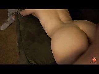 Bonnie bowtie takes cock on camera
