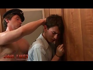 Lustful jailer turning a Prisoner into his toy boy