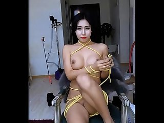 Nayi ling rope play tease