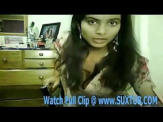 Sexy indian showing boobs and pussy girl on cam