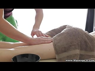 Massage X Anna taylor anal on massage table