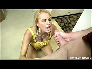 Blonde Milf Facial