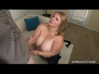 Huge titted blonde gets blasted
