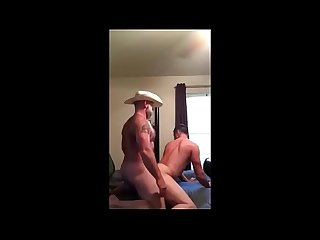 cowboy daddy fucks slutty son