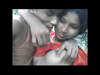 Sexy bihar girl pressing big boobs by her boyfriend