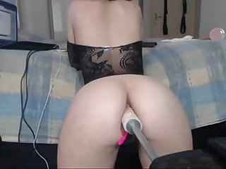 Intimate anal with fuck machines lickmycams period com