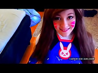 Overwatch d va cosplay face fucked asian stepsister hd watchsexcam com