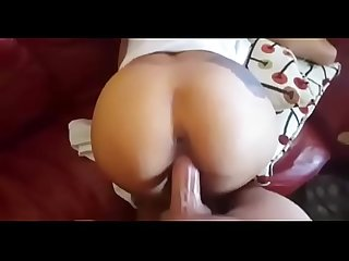 Fucking her tight asian pussy