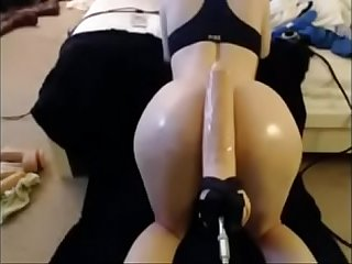 Webcam Milf Extreme anal Deep Machine - www.thesluttycams.com