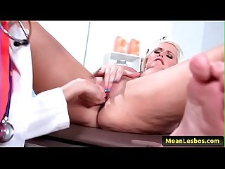 Hot and Mean Lesbian Babes - My Lesbian Doctor with Alena Croft & Val Dodds-free-video-02