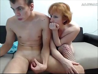 Mature redhead fucks her step son on webcam adultwebshows com