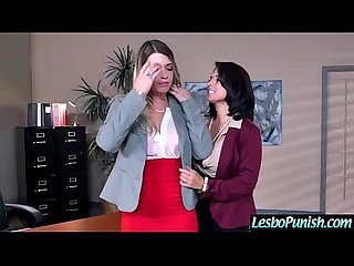 Lez Teen Girl (eva&jenna) Get Toy Punish By Mean Lesbo movie-20