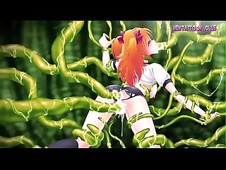 Uncensored at WWW.HENTAITOON.CLUB - Small Anime Girl Fucked By Huge Tentacles