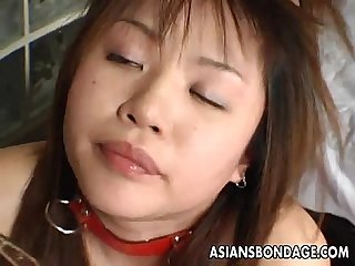 Asian bitch has a rough bdsm treatment