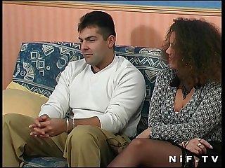 French amateur couple doing anal sex