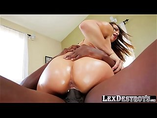 Hairy and sporty sara luvv gets fucked hard by lexington steele